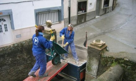 La mancomunidad de Sierra de Gata ha iniciado esta semana el taller de empleo plurirregional