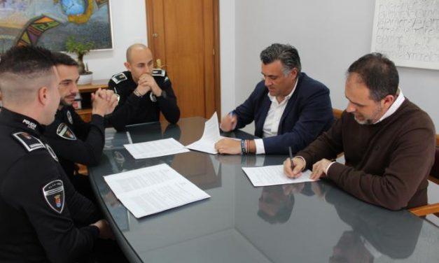 Coria y Moraleja firman un convenio de colaboración para la prevención y lucha en materia de seguridad vial