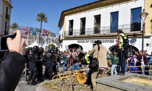 La manifestación de agricultores en Mérida concluye con la advertencia de nuevas protestas