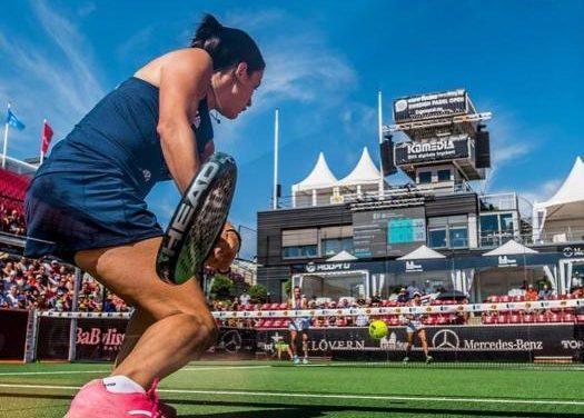 """La moralejana Paula Josemaría recibe el título de """"Jugadora Relevación"""" en el World Pádel Tour"""