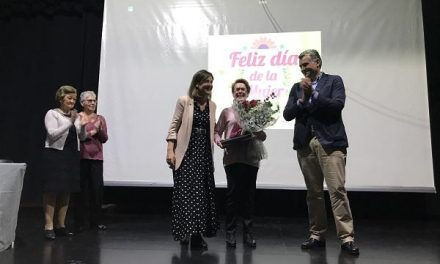 Coria rinde homenaje a Valentina Colo una antigua panadera local con motivo del Día de la Mujer