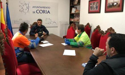 Coria se suma a la campaña de desinfección de zonas concurridas de la ciudad, Puebla y Rincón
