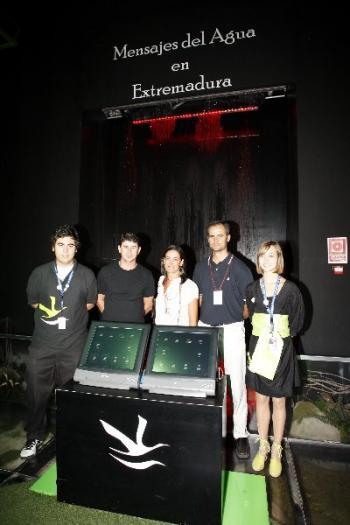 Los Itinerarios Patrimoniales bajo el agua se han presentado en la Expo de Zaragoza 2008