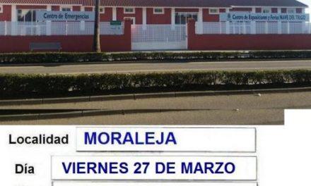 El Banco de Sangre traslada la colecta de Moraleja del día 27 al Centro de Exposiciones y Emergencias