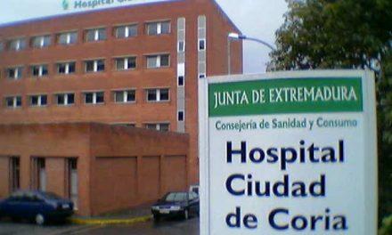 El Área de Salud de Coria acumula 42 positivos, dos fallecidos y 12 sanitarios contagiados
