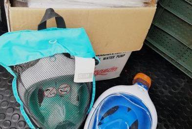 Moraleja y Valverde del Fresno ya envían máscaras de buceo tipo snorkel al Hospital de Coria