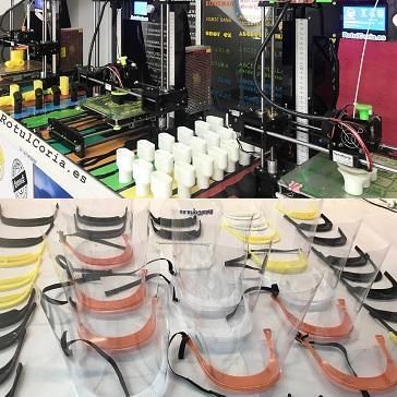 RotulCoria fabrica válvulas complementarias a las máscaras snorkel para el Hospital de Coria