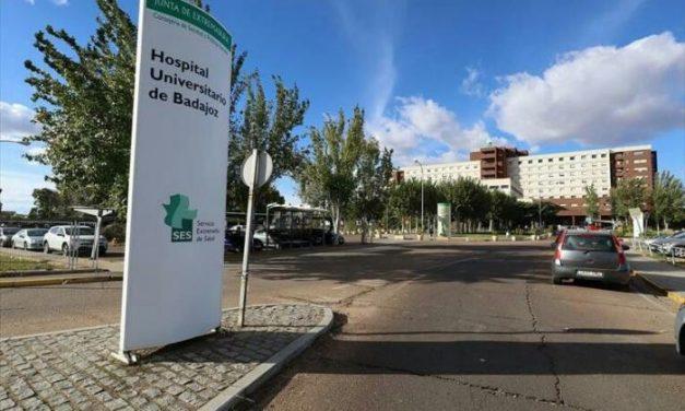 Los pacientes con Covid ocupan ya una planta completa del Universitario de Badajoz