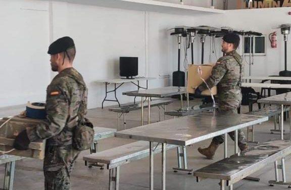 Miembros de la Brigada XI llegan a Moraleja para vigilar los movimientos en las zonas fronterizas con Portugal