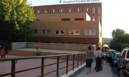 El Hospital de Coria tiene 22 positivos ingresados y el de Navalmoral nueve