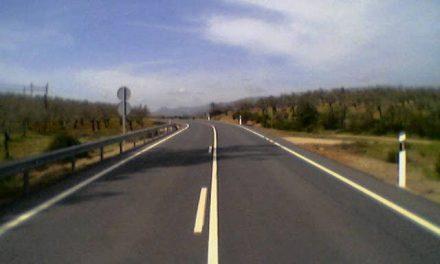 Mañana se contará al tráfico la carretera EX-386 en el tramo desde el cruce de Retamosa a Castañas de Ibor