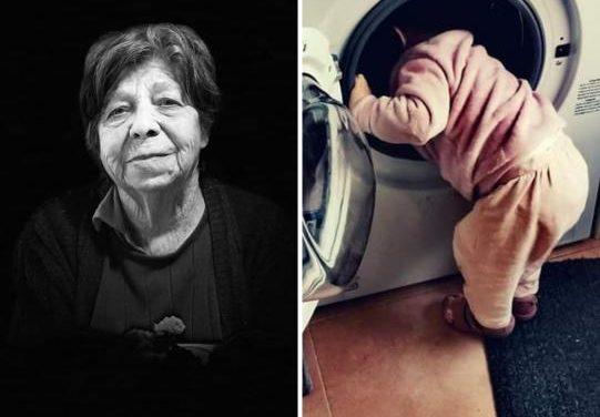 Yaiza y Elena rompen en Moraleja  la rutina de la cuarentena con fotos cargadas de sentimientos