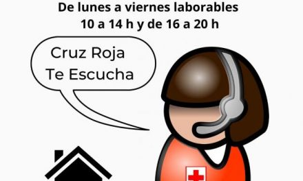 Ayuda a los más vulnerables: Cruz Roja abre un teléfono de apoyo a personas enfermas o solas