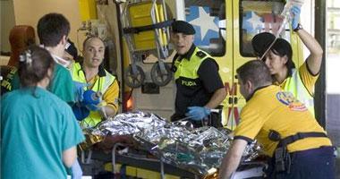 Catorce miembros de Cruz Roja Extremadura ayudan a los familiares de las víctimas del accidente aéreo