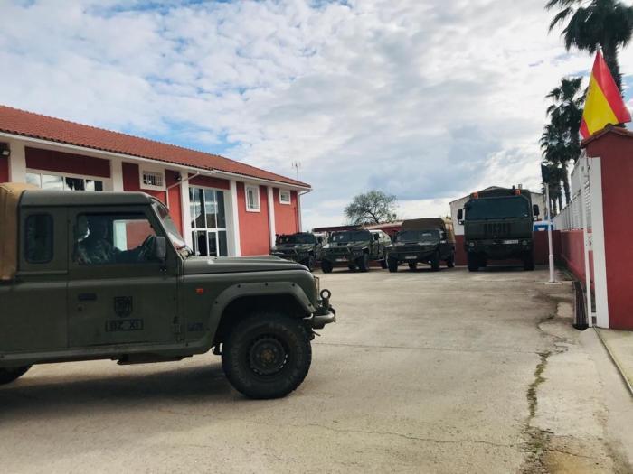 Diario de un militar: Evitar que el coronavirus traspase los pasos fronterizos de la provincia de Cáceres