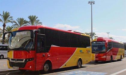 La movilidad en autobús interurbano desciende un 96% en Extremadura durante el confinamiento
