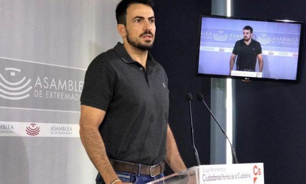 Ciudadanos designa a David Salazar coordinador en Extremadura