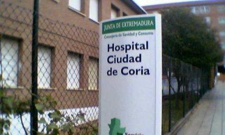 El área de Coria suma 5 positivos y ocho pacientes están hospitalizados por el virus