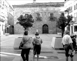 El Palacio de Carvajal de la zona centro de Plasencia podría rehabilitarse para convertirse en hotel singular