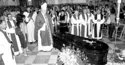 Emotivo adiós en Sevilla al padre Pacífico, director espiritual de cientos de cacereños