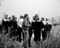 La policía levanta una decena de asentamientos de temporeros en  un mes en Almendralejo