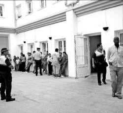 Vendedores de la feria en Mérida protestan ante el consistorio y no pagarán más caros sus puestos