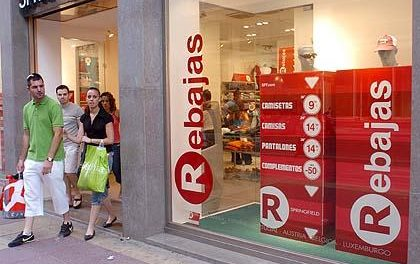 Los altos descuentos de las rebajas no logran impulsar las ventas del comercio en Extremadura