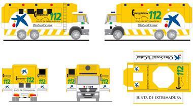 Extremadura dispondrá de un mando avanzado de última generación para situaciones de emergencia