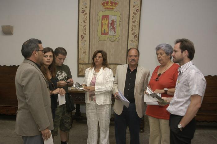 Silvia González destaca el carácter emprendedor de la Sierra de Montánchez con «Activa tu comarca»