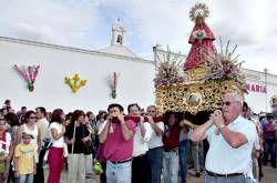 La Virgen de las Cruces llegará esta tarde a Don Benito donde permanecerá hasta el 12 de octubre