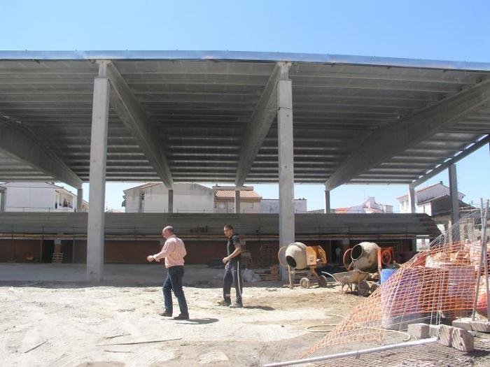El nuevo pabellón de deportes de Navalmoral de la Mata abrirá sus instalaciones en el mes de noviembre