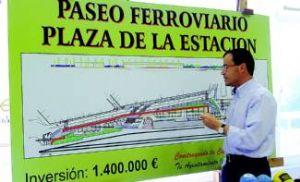 El proyecto de integración de la vía férrea a su paso por Villanueva de la Serena conservará parte del muro