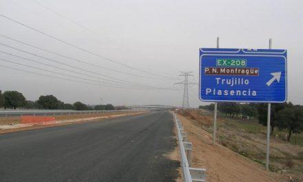 Las obras del tramo El Batán-Coria de la autovía EX-A1 comenzarán antes de que finalice este año