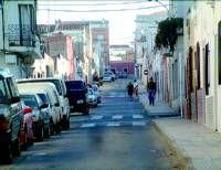 Levantan la calzada de la Calle Condesa Torreseca de Almendralejo otra vez para hacer una mejora