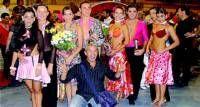 Una pareja de baile de Almendralejo ha quedado en segundo puesto en el campeonato de Palencia