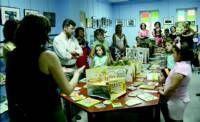 Una muestra en Puebla de la Calzada acerca el libro troquelado al público hasta el día 26 de septiembre