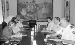 La Delegación del Gobierno estudia la aplicación de  medidas para evitar la inseguridad en Almendralejo