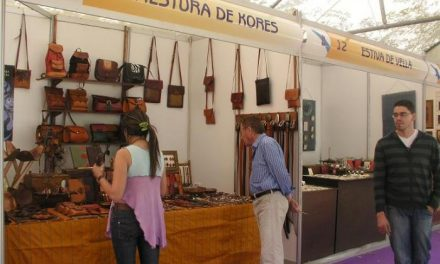 El Parque Municipal Casto Lozano de Navalmoral de la Mata acoge 32 expositores de artesanos de toda España