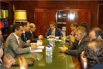 Enel Unión FENOSA presenta al consejero de Industria proyectos de más de 800 millones de euros