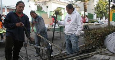 Arrestados los presuntos autores del incendio de tres casetas de feria en San Vicente de Alcántara