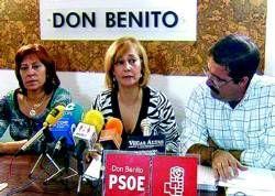 El PSOE de Don Benito pide reducir gastos superfluos en el ayuntamiento y que no se suban los impuestos