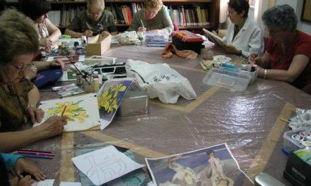 El Ayuntamiento de Coria impartirá un taller de pintura en tela a partir del próximo día 1 de octubre
