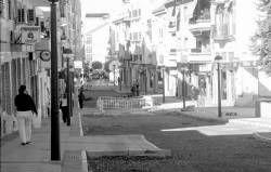 La calle Francisco Pizarro de Almendralejo estará urbanizada en un mes con las obras ejecutadas por Senpa