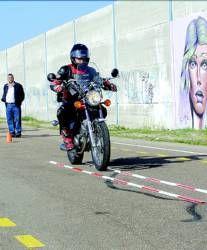 Don Benito dispone desde ayer de un Centro Municipal de Exámenes de Conducir con un circuito de motos