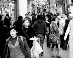 El comercio del centro de Plasencia se queja de que sufre robos de forma continua en lo que va de año