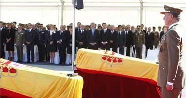 Emotivo funeral por los dos soldados españoles muertos el pasado lunes en un ataque perpetrado en Afganistán