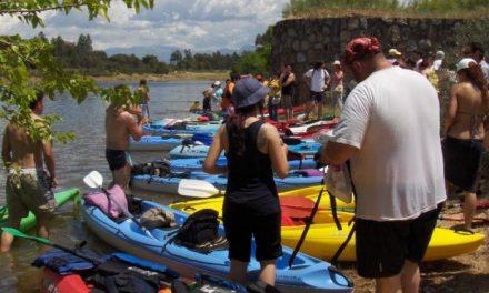 Trasierra organiza este sábado la primera regata comarcal en el embalse de Gabriel y Galán