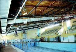 La piscina cubierta de Plasencia reabrirá en breve con un refuerzo por seguridad provisional