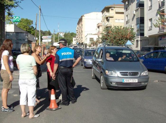 El Ayuntamiento de Navalmoral de la Mata elabora un plan bianual de señalización vial