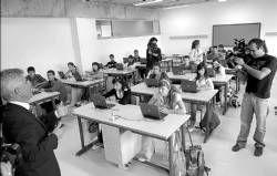 El Instituto de San Miguel de Plasencia es pionero en tener un portátil por cada estudiante del centro